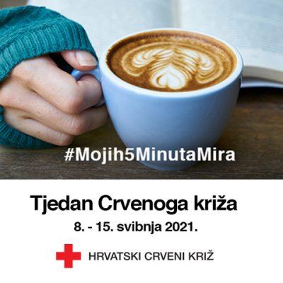 U Hrvatskoj započinje Tjedan Crvenoga križa