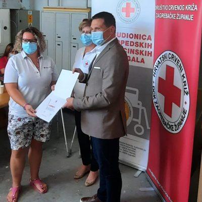 Uručena donacija ortopedskih i medicinskih pomagala